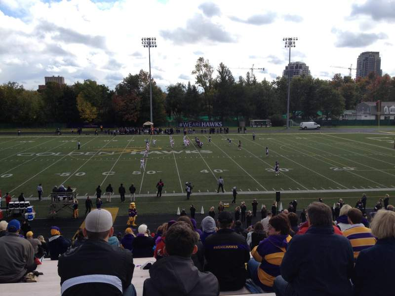 Seating view for Knight-Newbrough Field at University Stadium