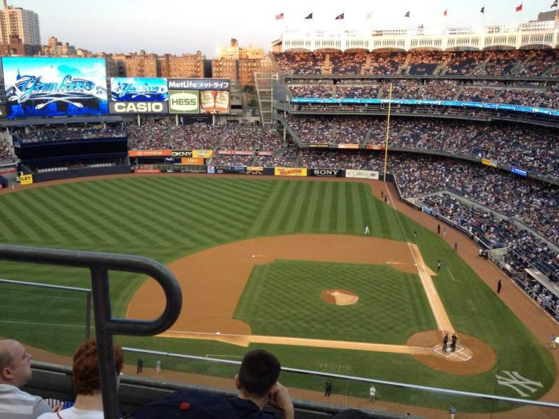 Seating view for Yankee Stadium Section 423 Row 3 Seat 19