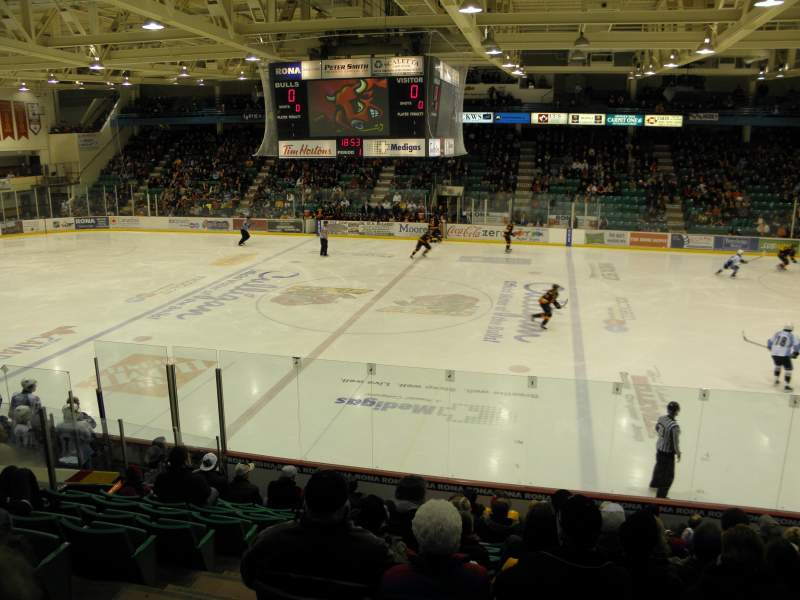 Seating view for Yardmen Arena Section 5 Row M Seat 14