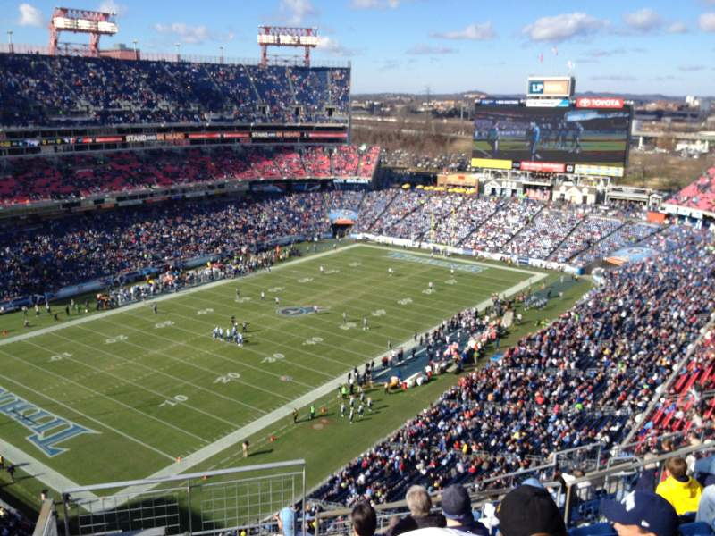 Seating view for Nissan Stadium Section 319 Row N Seat 19