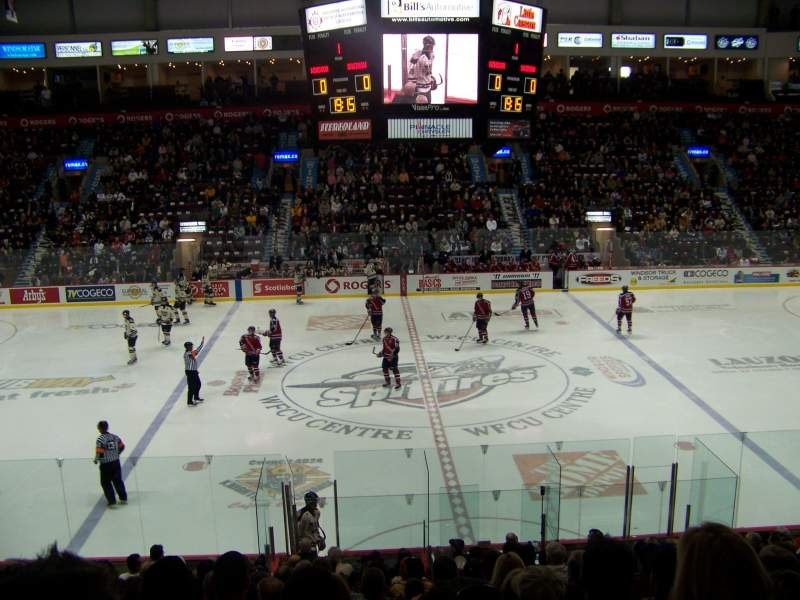 Seating view for WFCU Centre Section 104 Row O Seat 16