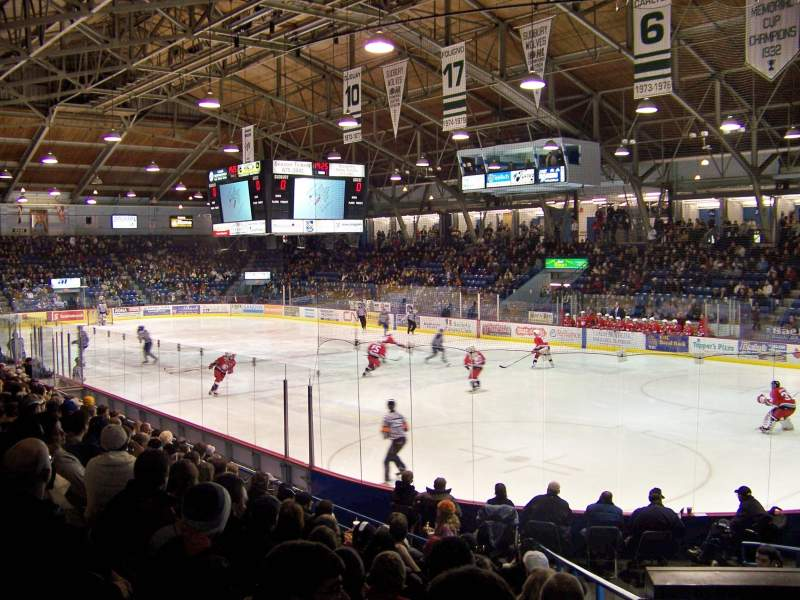 Seating view for Sudbury Arena Section 1 Row J Seat 7