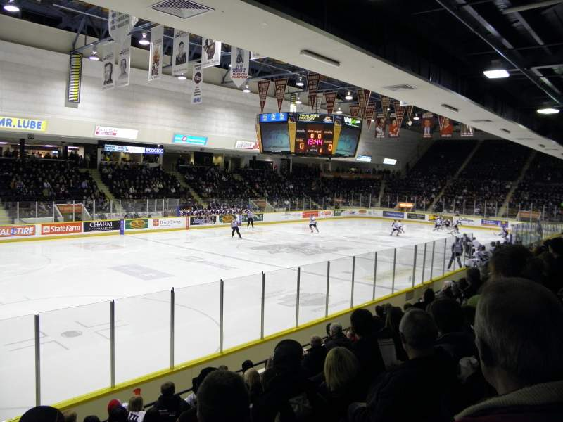 Seating view for Peterborough Memorial Centre Section 3 Row H Seat 1