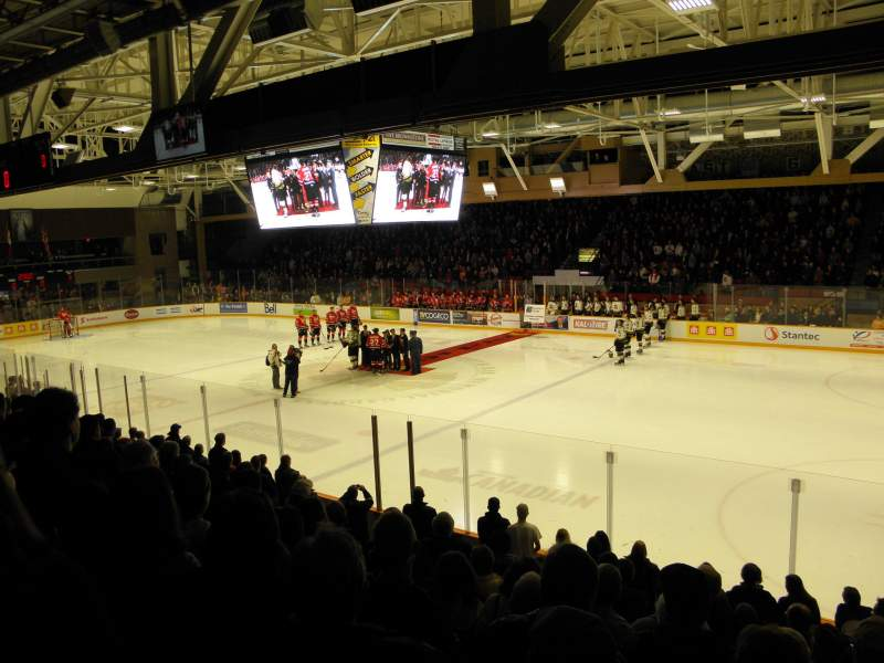 Seating view for North Bay Memorial Gardens Section 7 Row I Seat 9