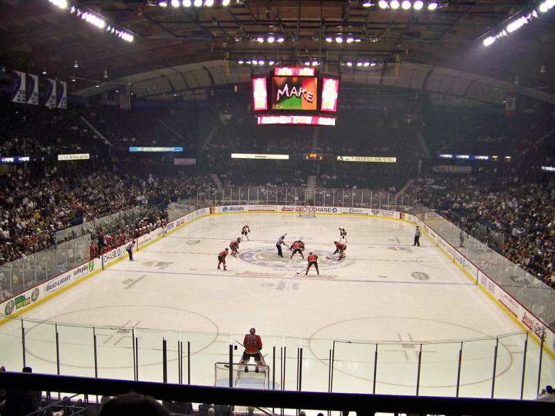 Seating view for Allstate Arena Section 206 Row B Seat 32