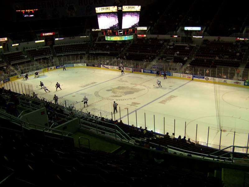 Seating view for Carver Arena Section 10 Row 17 Seat 2