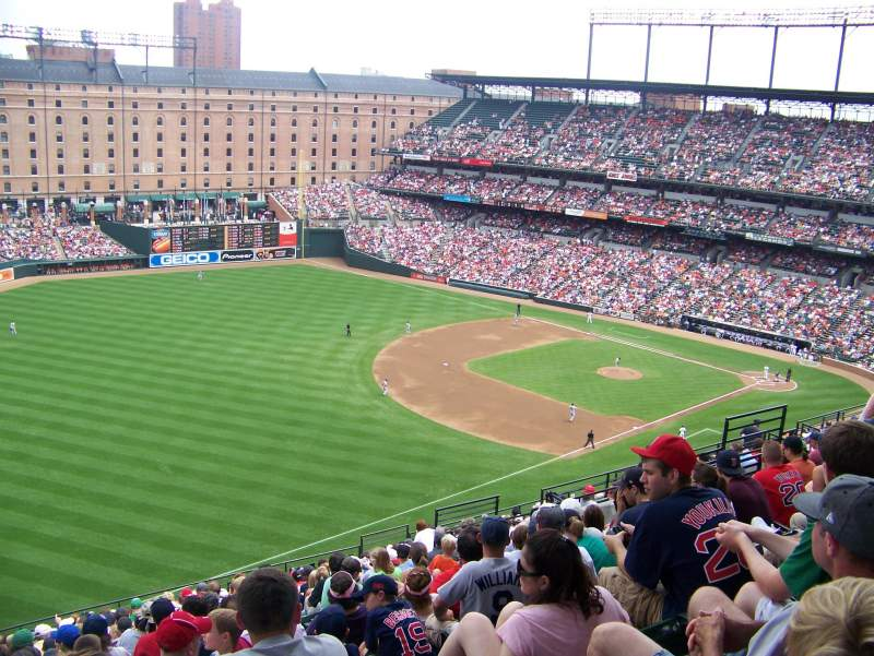 Seating view for Oriole Park at Camden Yards Section 368 Row H Seat 20