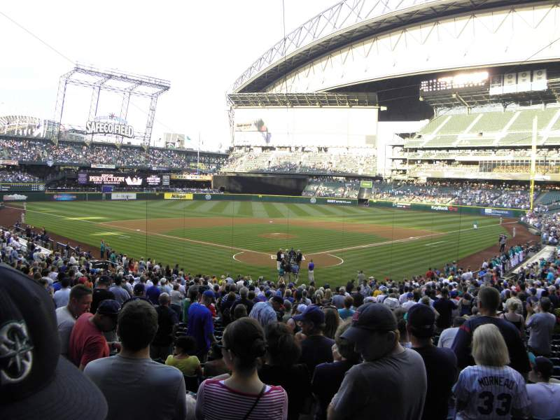 Seating view for Safeco Field Section 131 Row 33 Seat 9