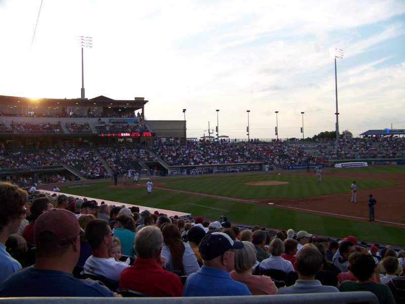 Seating view for Coca-Cola Park Section 104 Row U Seat 2