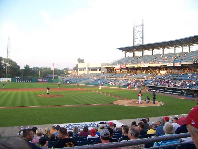 Nbt Bank Stadium Section 208 Row 2 Seat 7 Syracuse Mets Vs Charlotte Knights Shared By Profan9