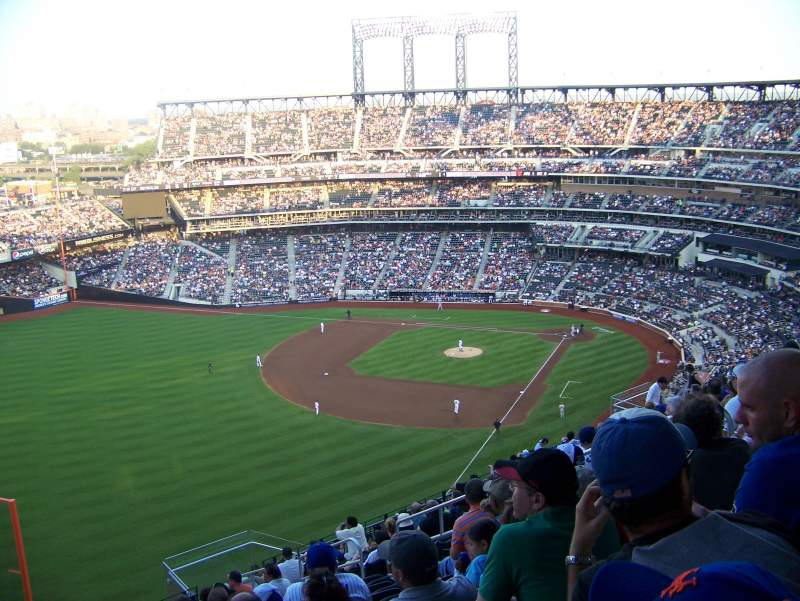 Seating view for Citi Field Section 529 Row 15 Seat 10