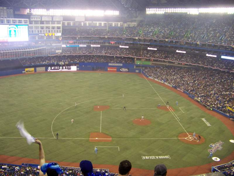 Seating view for Rogers Centre Section 530R Row 11 Seat 9