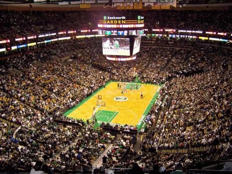 Seating view for TD Garden Section BAL 307 Row 10 Seat 10