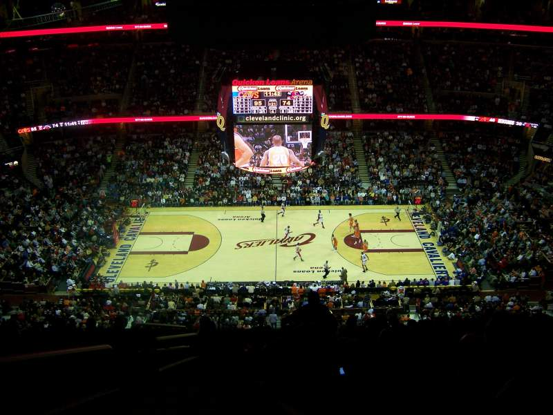 Seating view for Quicken Loans Arena Section 226 Row 15 Seat 1