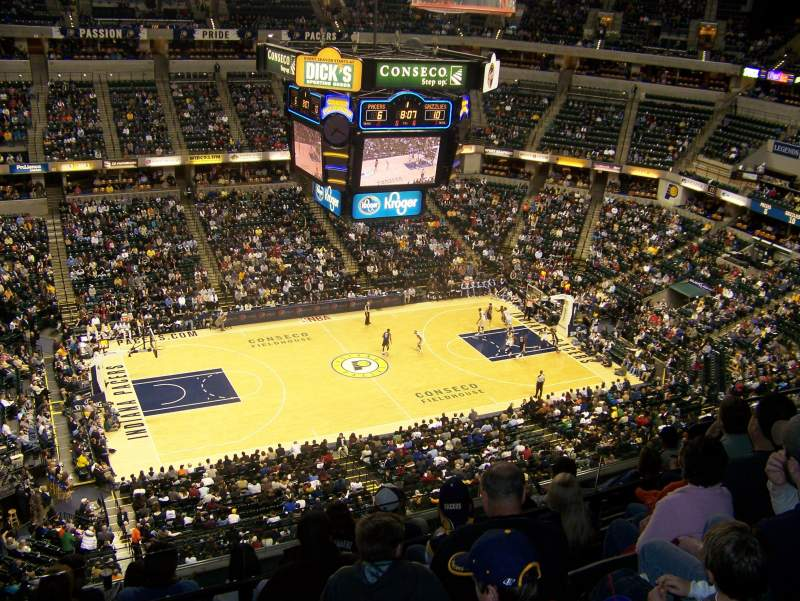 Seating view for Bankers Life Fieldhouse Section 226 Row 7 Seat 12