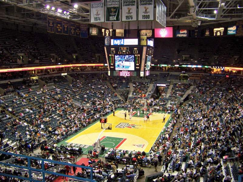 Seating view for BMO Harris Bradley Center Section 409 Row E Seat 11