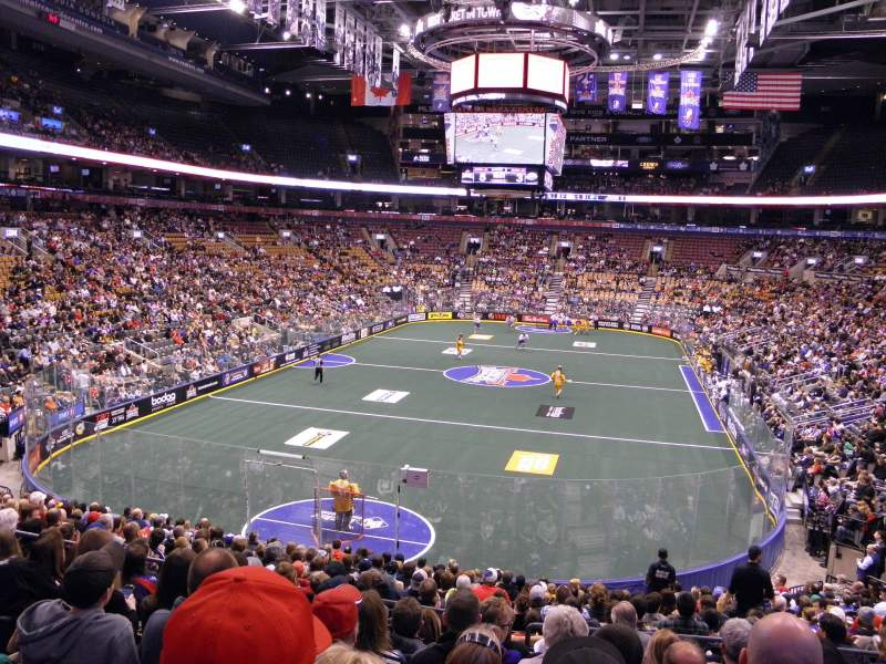 Seating view for Air Canada Centre Section 102 Row 23 Seat 4