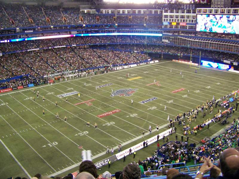 Seating view for Rogers Centre Section 517 Row 11 Seat 108