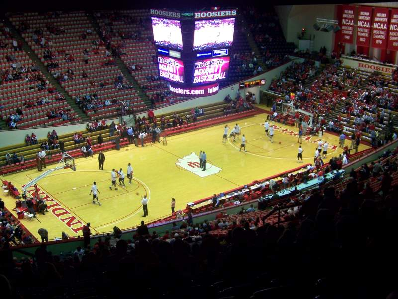 Seating view for Assembly Hall (Bloomington) Section F Row 42 Seat 11