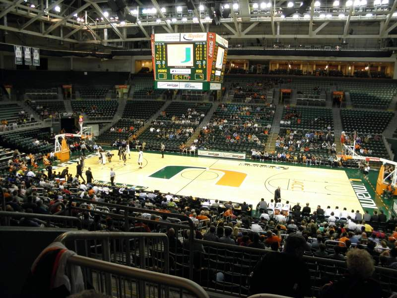 Seating view for Watsco Center Section 122 Row Z Seat 5