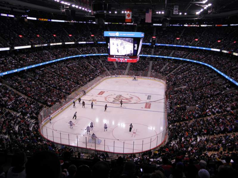 Seating view for Canadian Tire Centre Section 314 Row G Seat 13