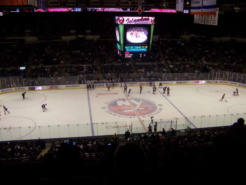 Seating view for Old Nassau Veterans Memorial Coliseum Section 304 Row P Seat 8