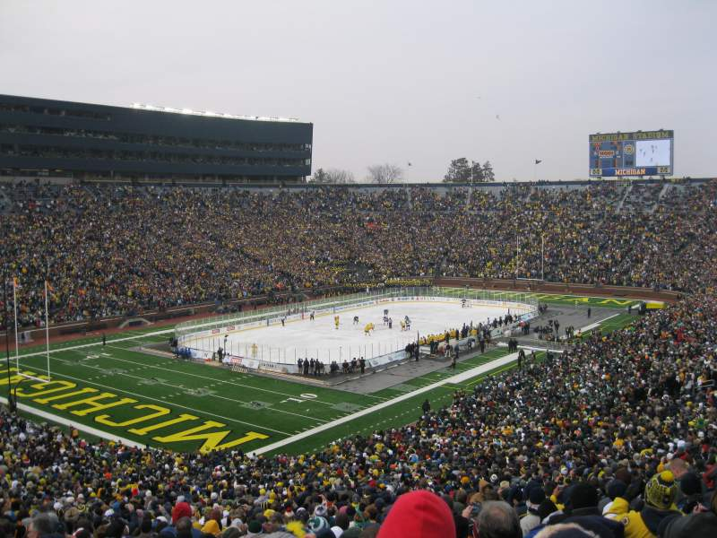 Seating view for Michigan Stadium Section 7 Row 74 Seat 2