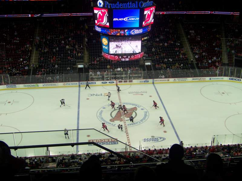 Seating view for Prudential Center Section 212 Row 6 Seat 24