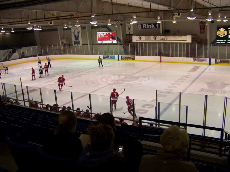 Seating view for Canlan Ice Sports – York Section GA