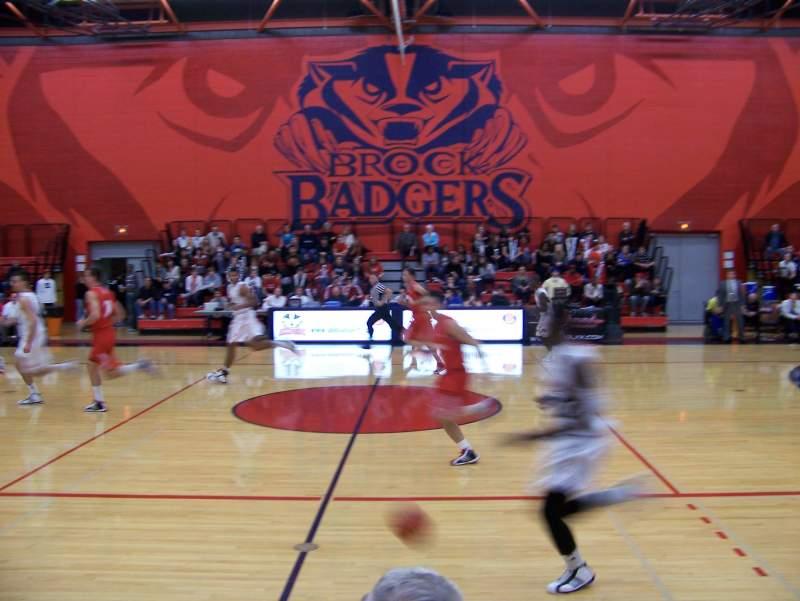 Seating view for Bob Davis Gymnasium Section GA