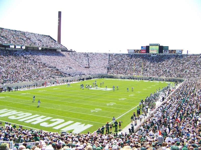 Seating view for Spartan Stadium Section 29 Row 42 Seat 22