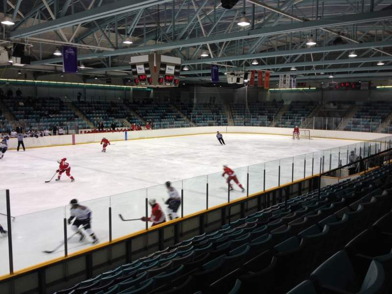 Seating view for Waterloo Memorial Recreation Complex Section T Row J Seat 16