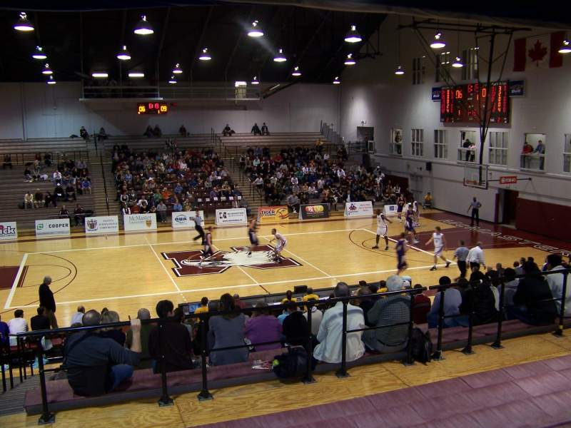 Burridge Gymnasium, section: GA