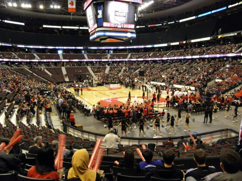 Seating view for Canadian Tire Centre
