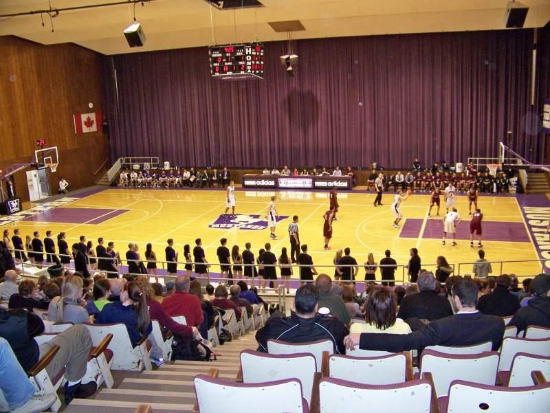 Alumni Hall (Western), section: GA