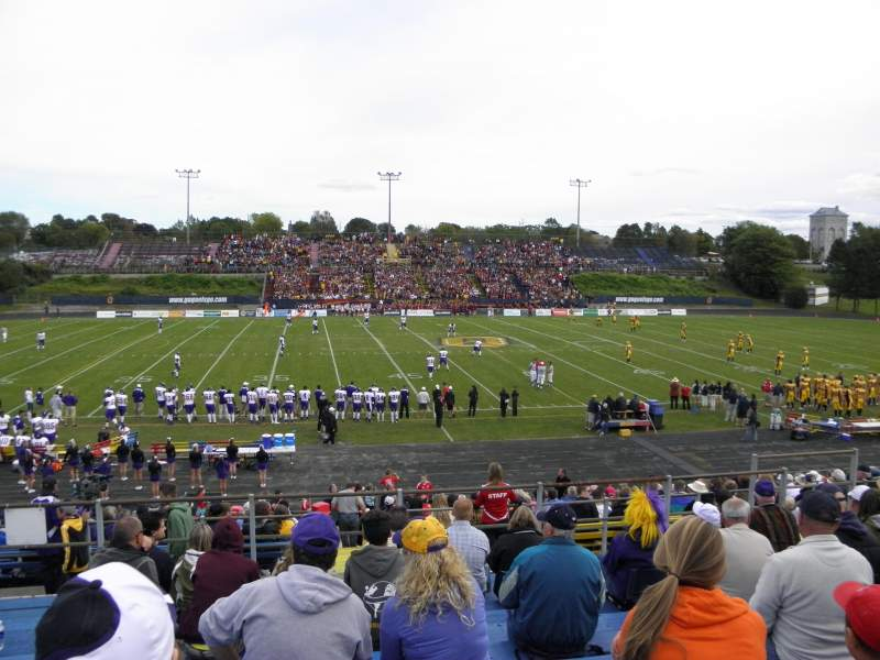 Seating view for Richardson Memorial Stadium