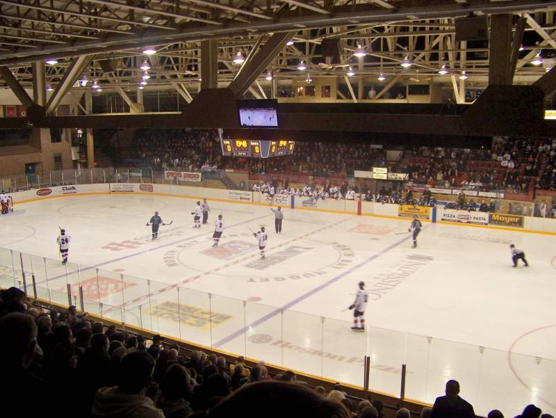Seating view for North Bay Memorial Gardens Section N Row O Seat 3