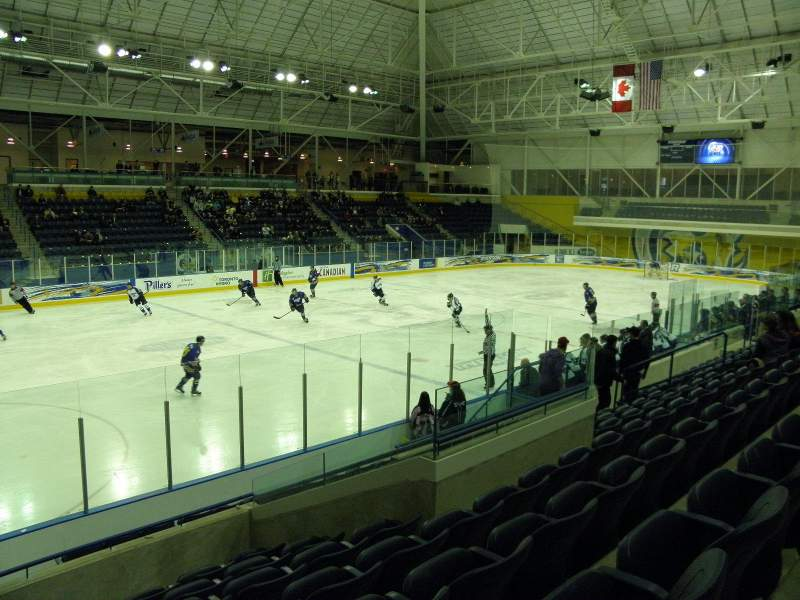 Seating view for Mattamy Athletic Centre at the Gardens