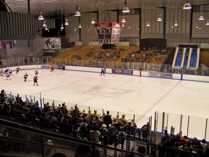 Seating view for Thompson Arena (Western)