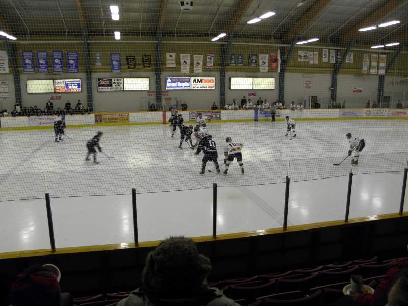 Seating view for South Windsor Arena
