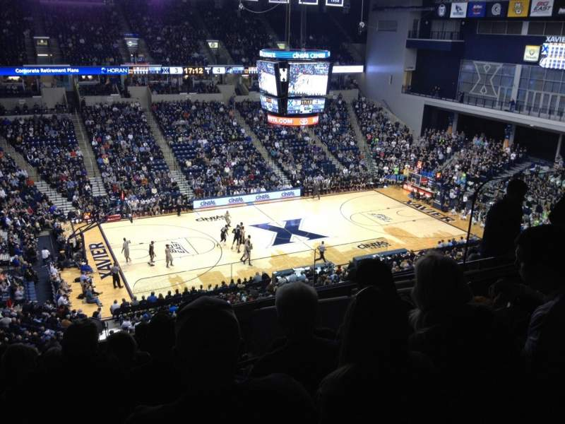 Seating view for Cintas Center Section 208 Row J Seat 6