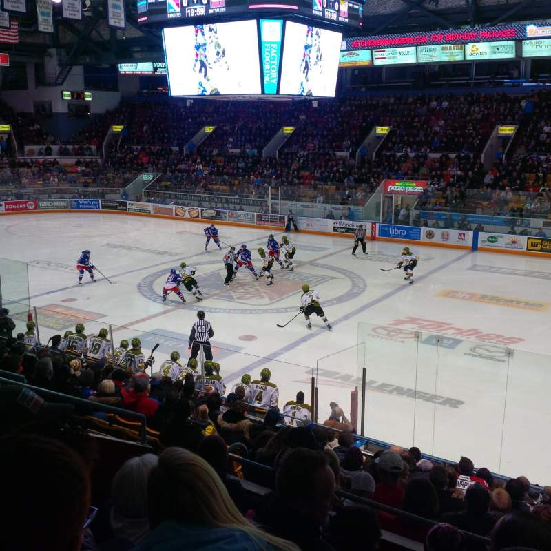 Seating view for Kitchener Memorial Auditorium Section 17 Row M Seat 8