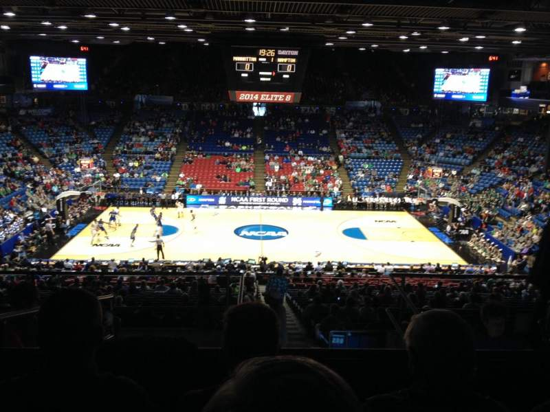 Seating view for University of Dayton Arena Section 304 Row H Seat 10