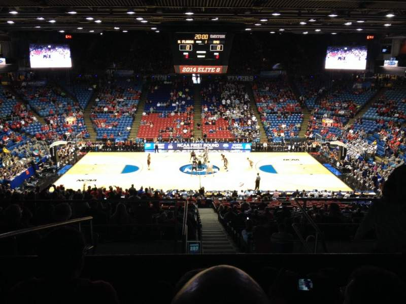 University of Dayton Arena, section: 304, row: H, seat: 10