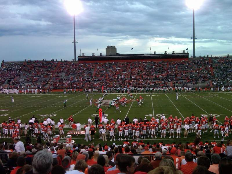 Doyt Perry Stadium, section: 13, row: 25, seat: 17