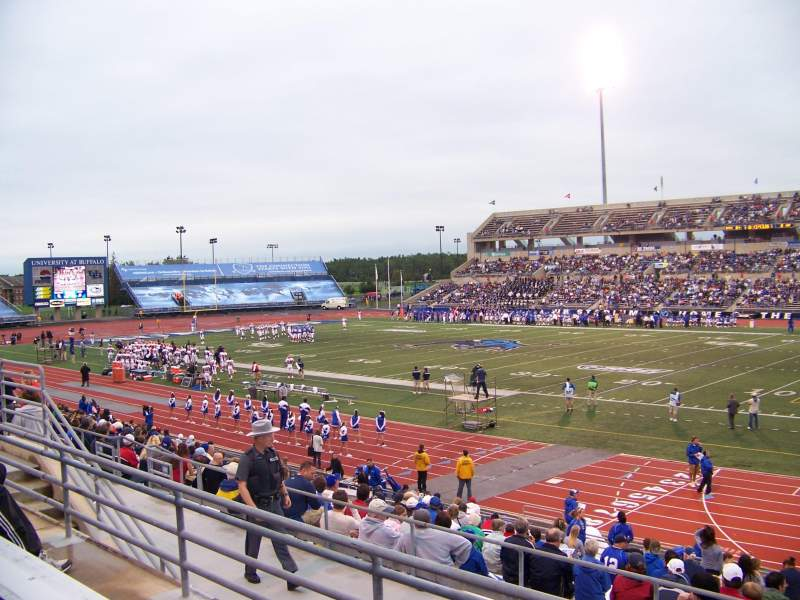 Seating view for UB Stadium Section 202 Row C Seat 1