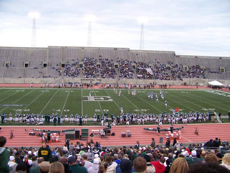 Seating view for Rynearson Stadium Section 105 Row II Seat 26
