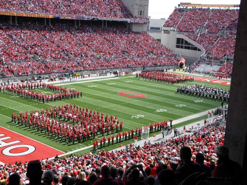 Seating view for Ohio Stadium Section 9B Row 7 Seat 14