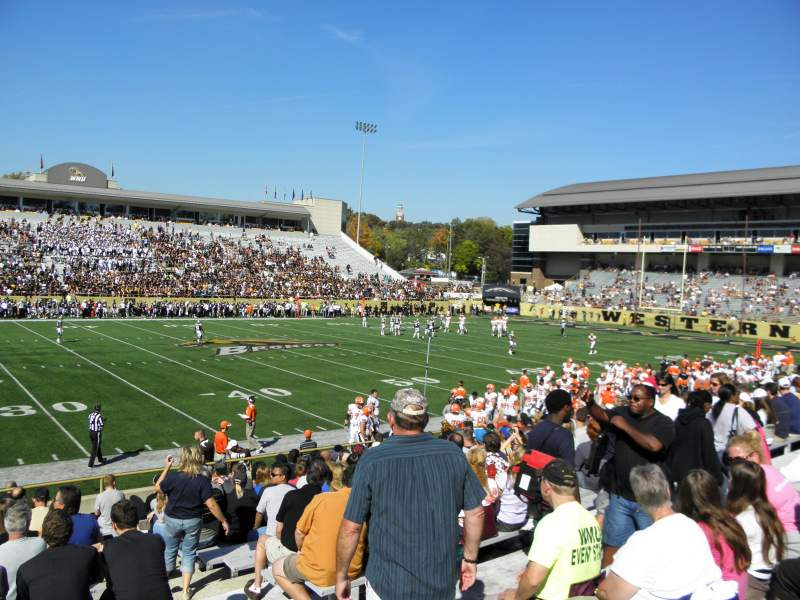 Seating view for Waldo Stadium Section F Row 5 Seat 25