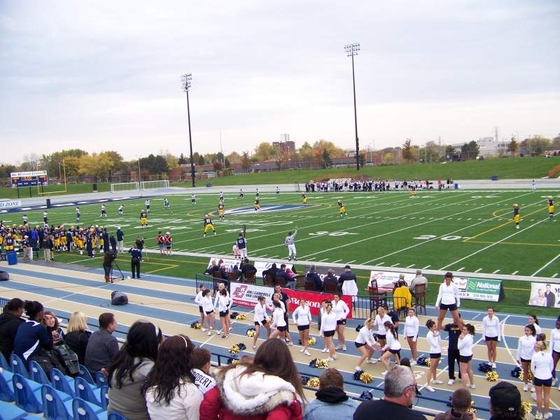 Seating view for Alumni Field at University of Windsor Stadium Section GA